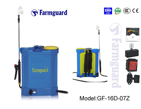 Farmguard,Sprayers,Battery Sprayer,Electric Sprayer,High Qualtiy SPrayer ,model:GF-16D-07Z sprayer from chinese-sprayer.com